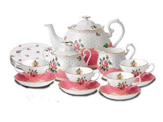 Cheeky Pink Fine Bone China, Royal Albert Collection