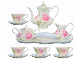 Dahlia Tea Set
