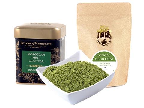Flavored Green Loose Tea
