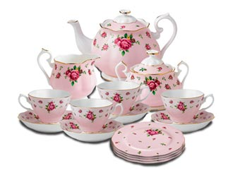 New Country Roses Pink Fine Bone China, Royal Albert Collection