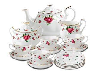 New Country Roses White Fine Bone China, Royal Albert Collection