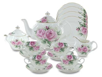Rose Bouquet Fine Bone China by Coastline Imports