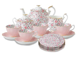 Rose Confetti Fine Bone China, Royal Albert Collection