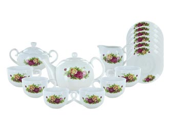 Roseate Bone China, English Tea Store Collection
