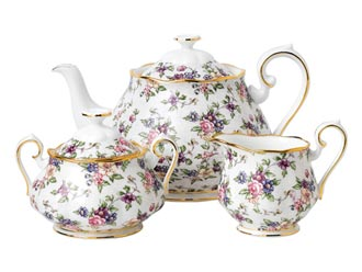 Royal Albert Fine Bone China - 3 Piece Tea Sets