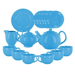 Solid Color Porcelain Tea Sets
