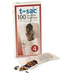 T-Sac Tea Filter Bags - Size 4