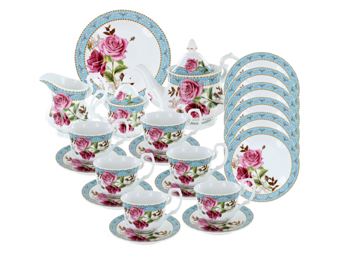English Tea Store Brand Porcelain Tea Sets