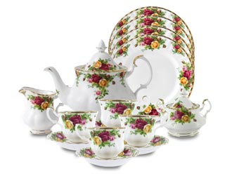 Old Country Roses Fine Bone China, Royal Albert Collection