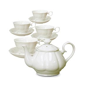 White Tea Sets