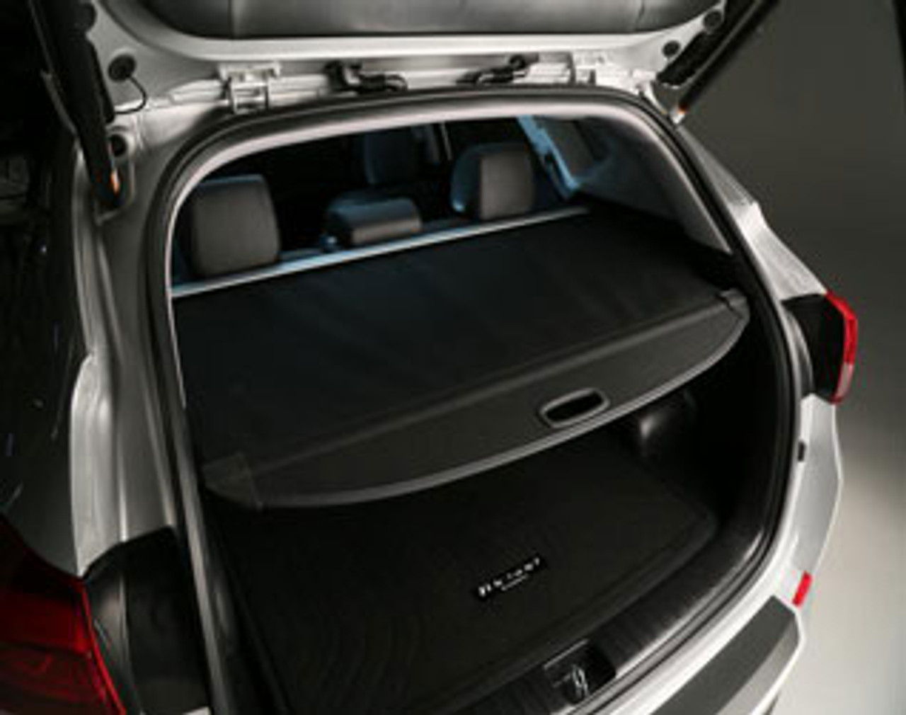Powerty Retractable Cargo Cover for Hyundai Tucson 2016-2019 2020 Trunk Shielding Shade/Cargo Luggage Cover/ Updated Version:no Gap