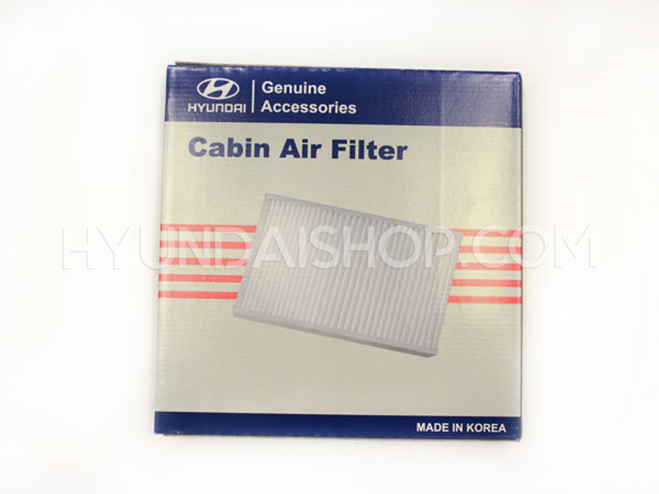 Hyundai Routine Maintenance Kit - 30K Miles: Cabin Air Filter