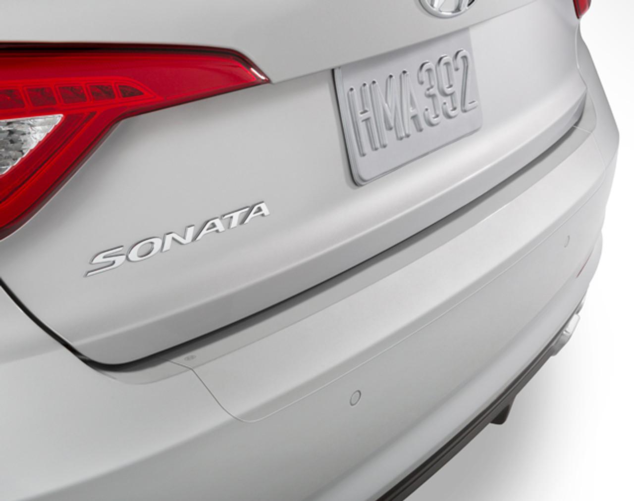 2018 2019 Hyundai Sonata Rear Bumper Protector Film J107