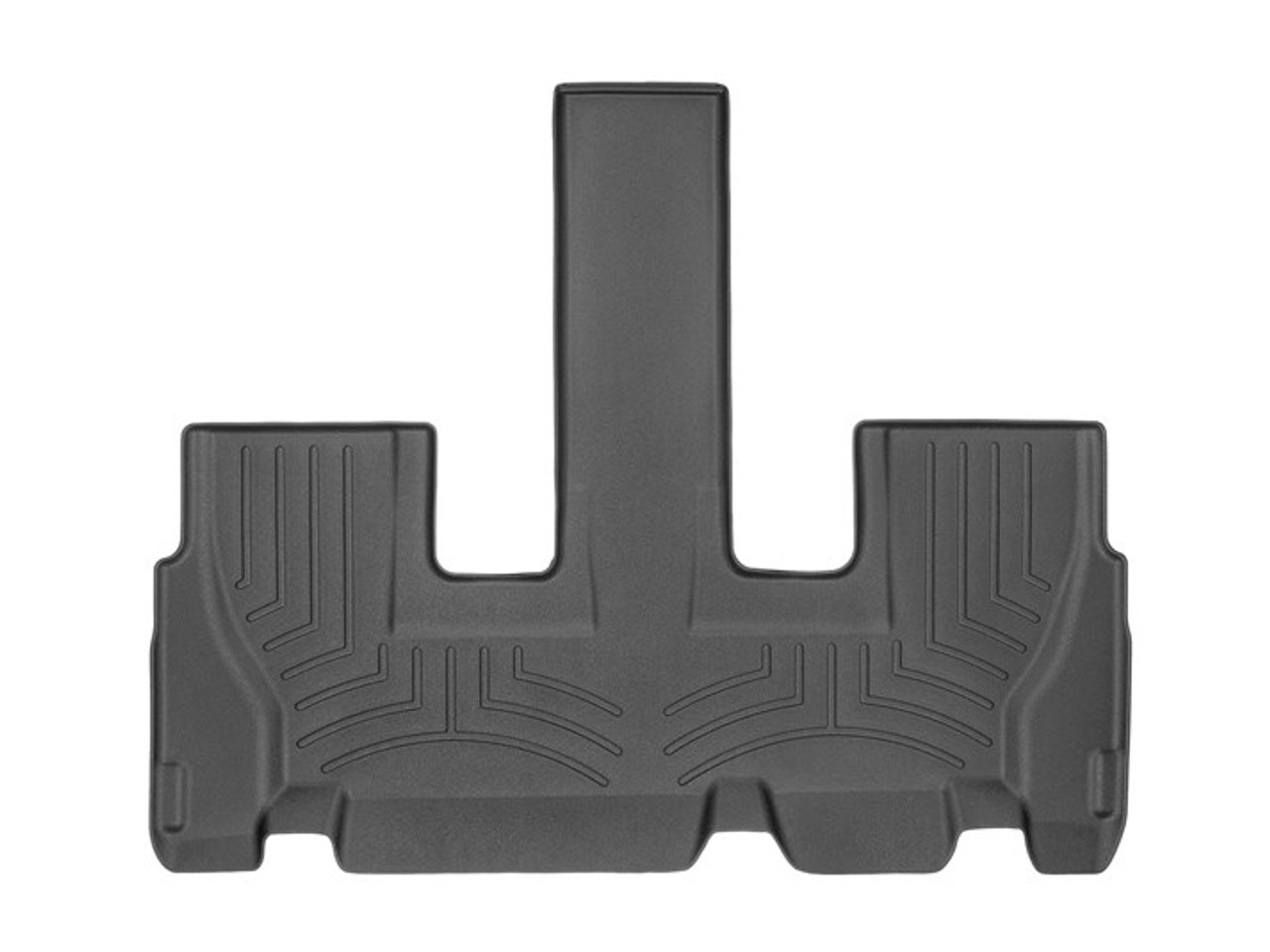 2020-2021 Hyundai Palisade WeatherTech Floor Liners- Third Row (Black)