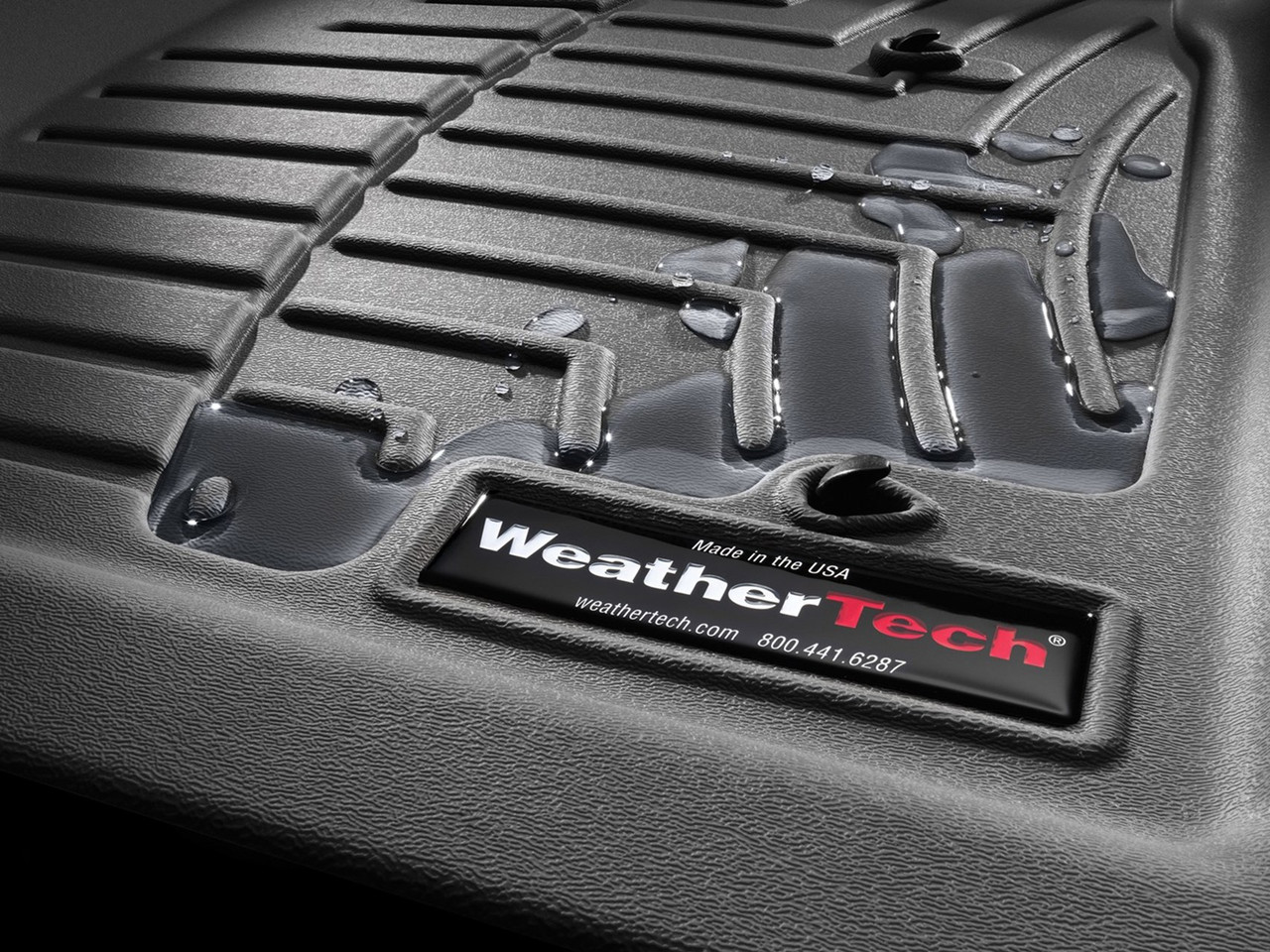 2020-2021 Hyundai Palisade WeatherTech Floor Liners - Close Up