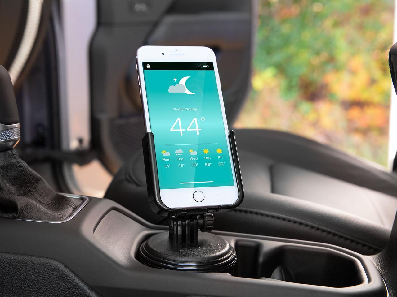 WeatherTech Universal CupFone - In Vehicle