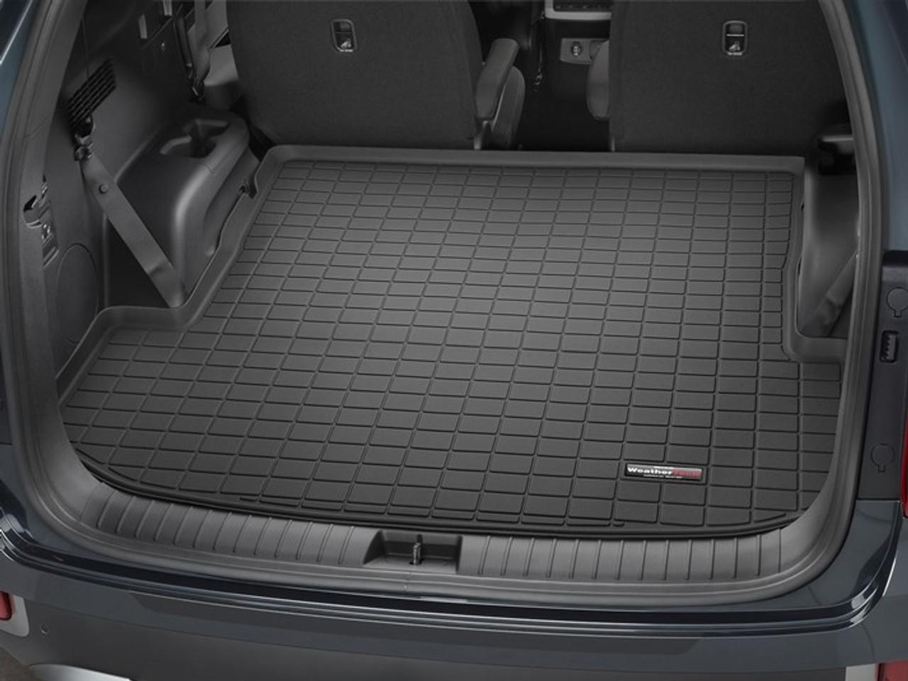 2020-2022 Hyundai Palisade WeatherTech Cargo Liner - Behind 2nd Row (Black)