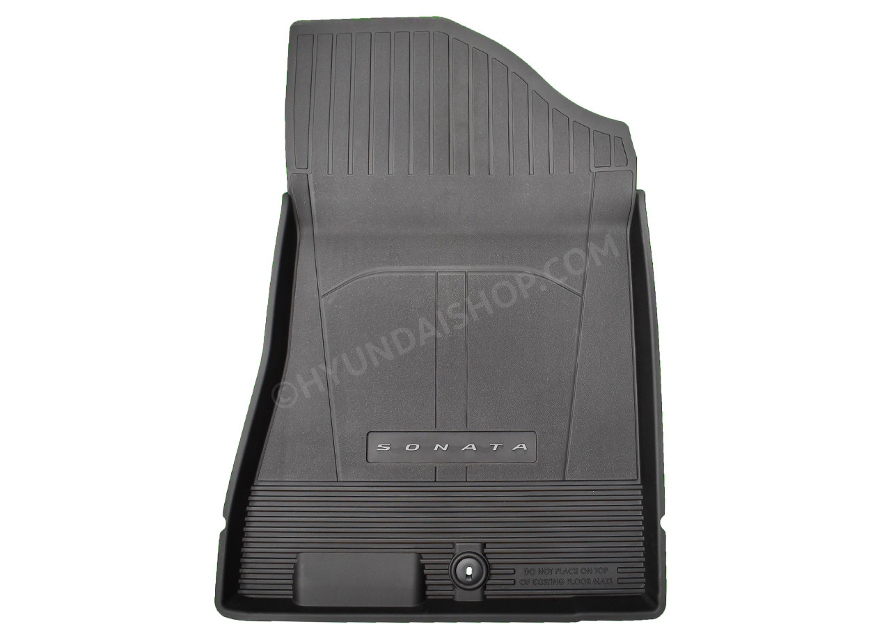 2020-2022 Hyundai Sonata Rubber Floor Mats