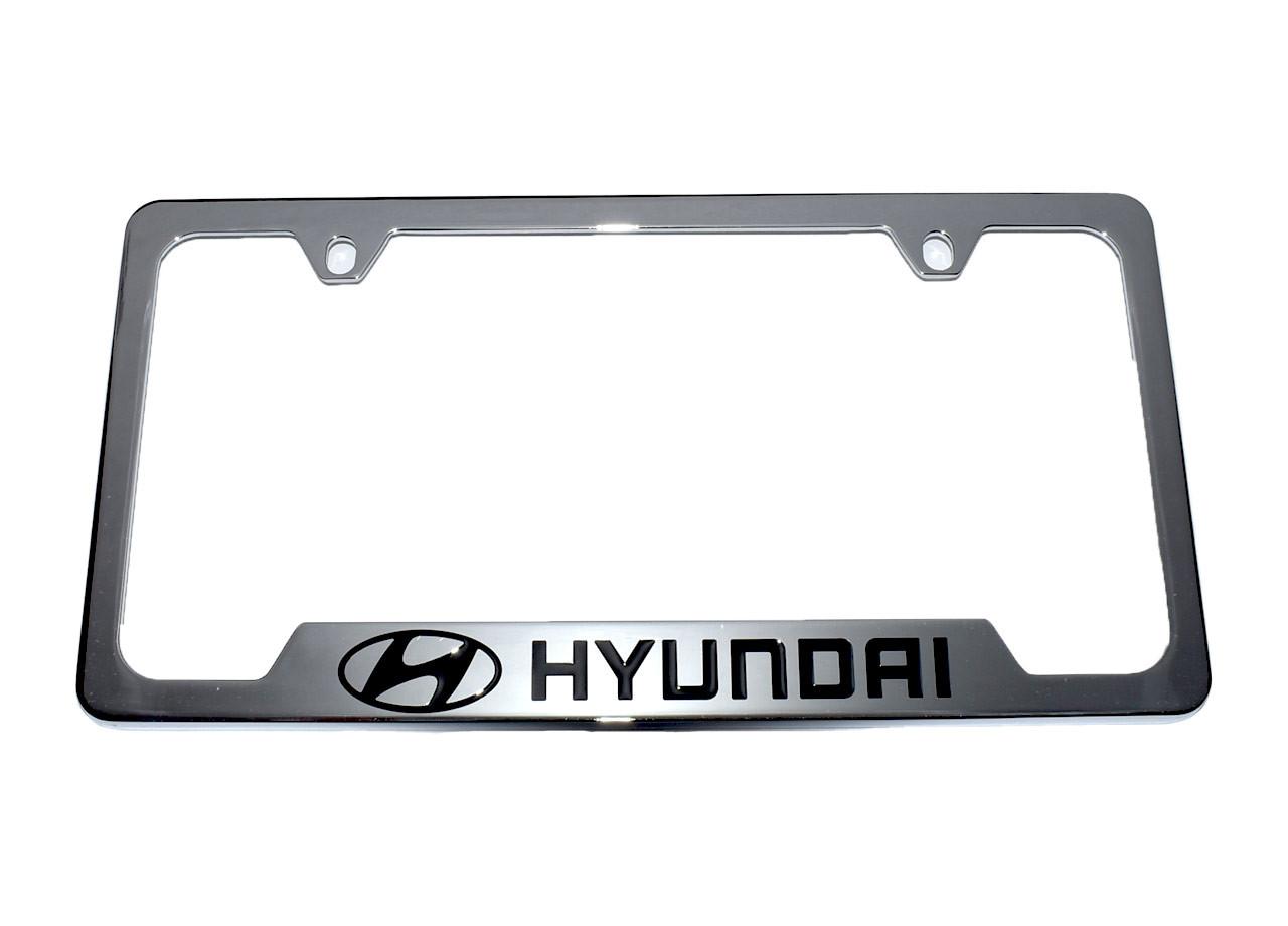 Hyundai License Plate Frame (Chrome)