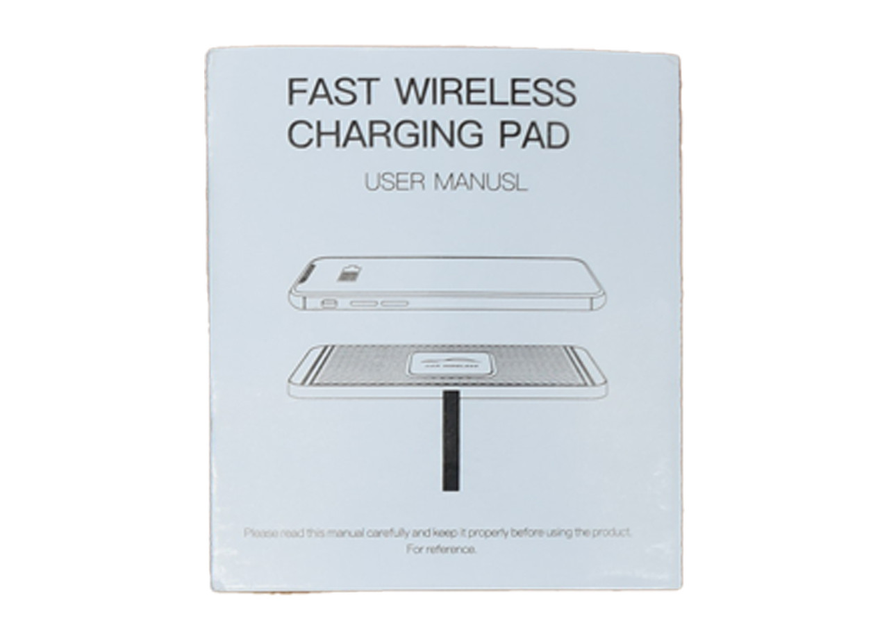 Wireless Phone Charging Pad Intructions