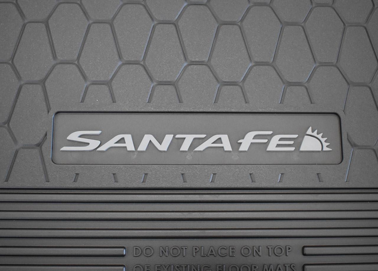2021-2022 Hyundai Santa Fe All-Weather Floor Mats - Emblem