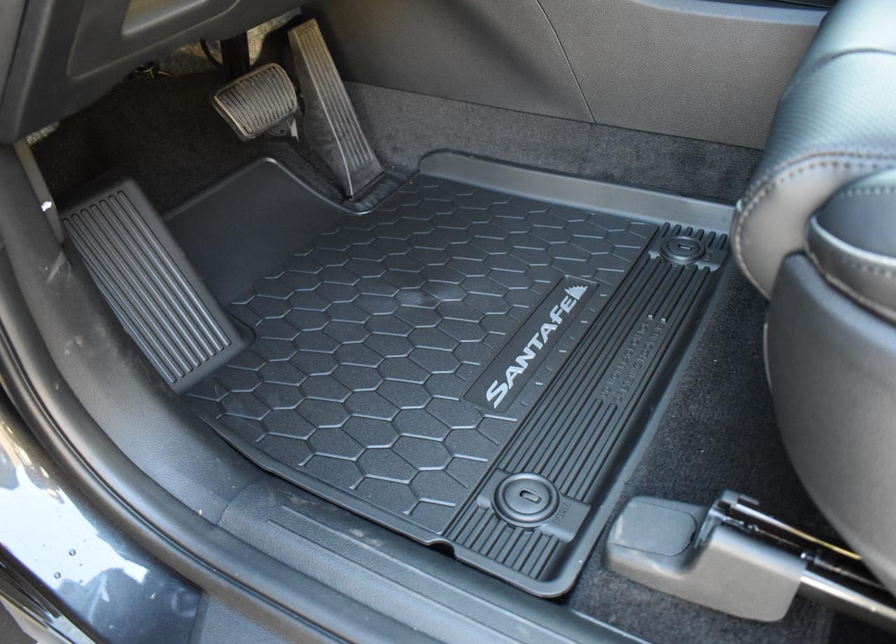2021-2022 Hyundai Santa Fe All-Weather Floor Mats - Drive Mat in Santa Fe