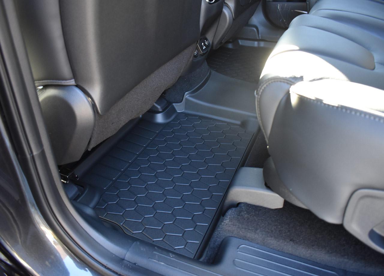 2021-2022 Hyundai Santa Fe All-Weather Floor Mats - Rear Mats in Santa Fe