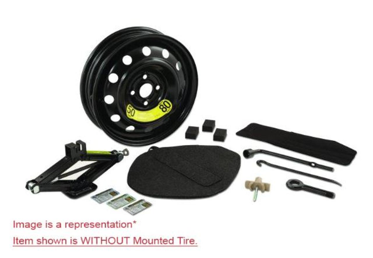 2011-2016 Hyundai Elantra Spare Tire Kit - Option #1 - WITHOUT tire.