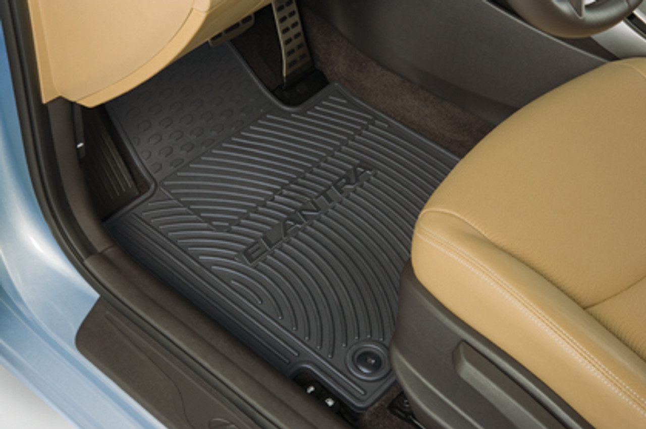Hyundai Elantra Rubber Floor Mats