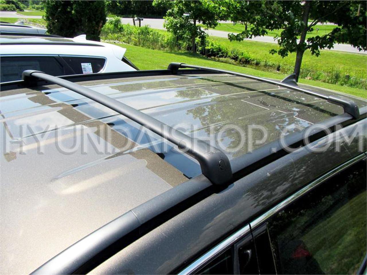 BRIGHTLINES 2013-2018 Hyundai Santa Fe /& 2019 Santa Fe XL Cross Bars Roof Racks