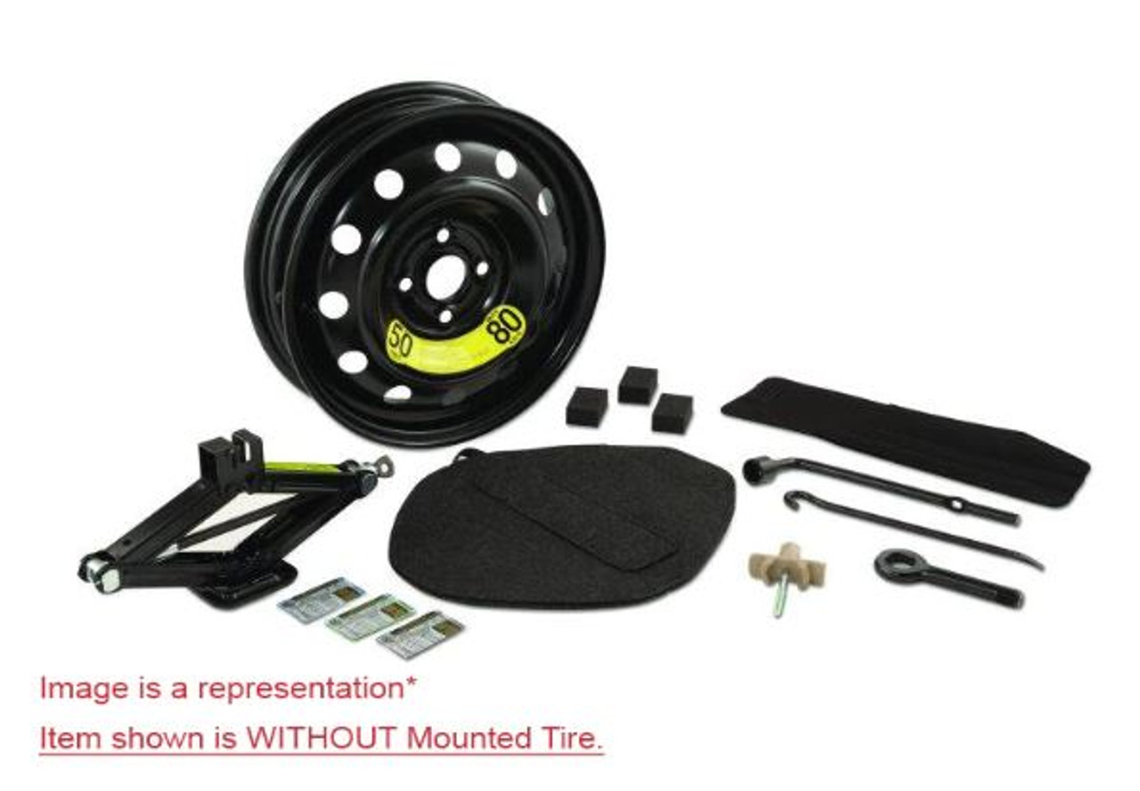 2015-2018 Hyundai Sonata Spare Tire Kit - mounted tire not included.
