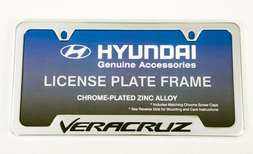 Hyundai Veracruz License Plate Frame