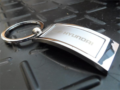 Hyundai Keychain - Rectangle Shape (N035)