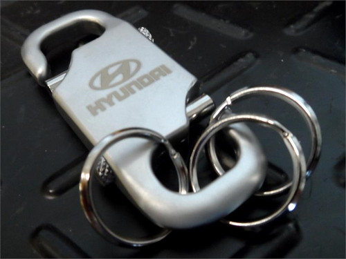Hyundai Keychain - Satin Chrome (N016)