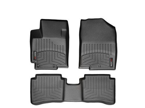 Hyundai Accent WeatherTech Floor Liners - Black