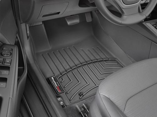 Hyundai Elantra WeatherTech FloorLiners - Front Set, Black