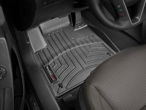 Hyundai Santa Fe Sport WeatherTech Floor Liners - Front Set Black