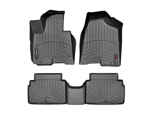 Hyundai Tucson WeatherTech FloorLiners - Black