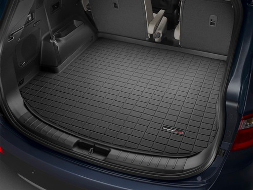 Hyundai Santa Fe WeatherTech Cargo Liner - Behind 2nd Row, Black