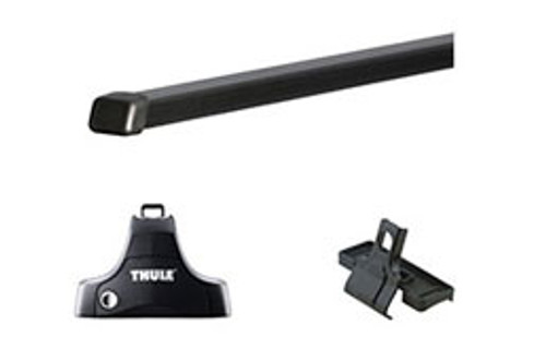"Hyundai Veloster Thule Roof Rack Kit - 58"" Square Bars"