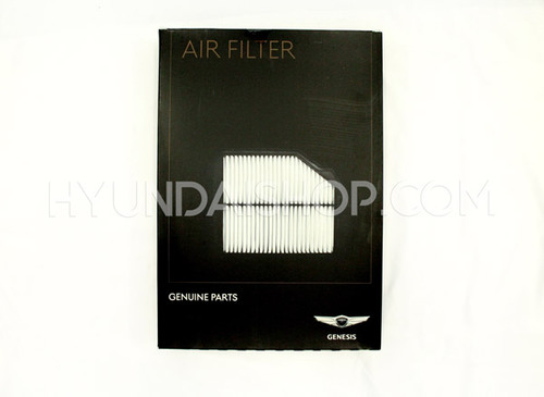 Hyundai Genesis Routine Maintenance Kit - 30K Miles: Cabin Air Filter