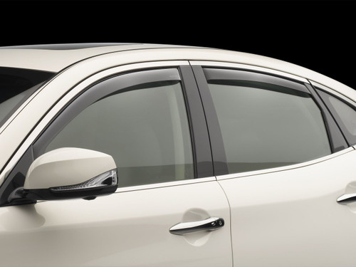 2017-2022 Hyundai Ioniq WeatherTech Vent Visors (Representational Image)