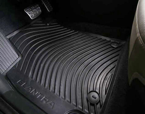 2018-2020 Hyundai Elantra Rubber Floor Mats