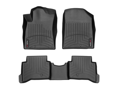 2017-2020 Hyundai Ioniq WeatherTech Floor Liners - Full Set