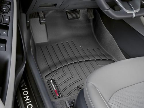 2017-2022 Hyundai Ioniq WeatherTech Floor Liners -Front Row