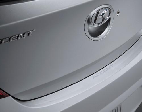 Hyundai Accent Rear Bumper Protector Film