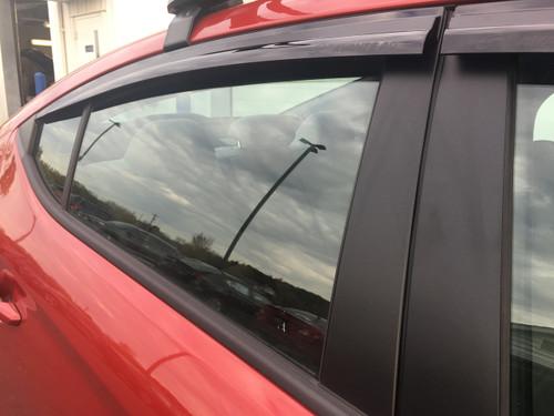 2017-2019 Hyundai Elantra GT Rain Guards (E063)