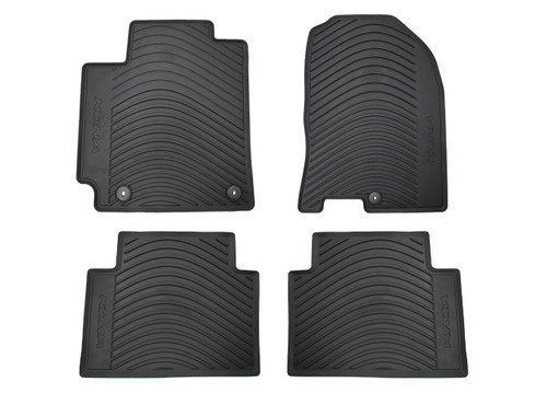 2018-2022 Hyundai Kona Rubber Floor Mats (Full Set)