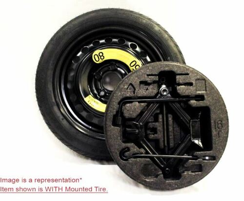 Hyundai Accent Spare Tire Kit - with mounted tire