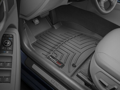 2015-2016 Hyundai Genesis WeatherTech Floor Liners - Front Row